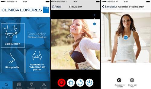 app Clínica Londres