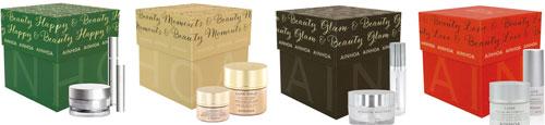 Packs Ainhoa Cosmetics para Navidad.