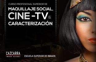 Nuevo Curso Profesional Superior de Maquillaje Social, Cine-TV y Caracterizaci�n.