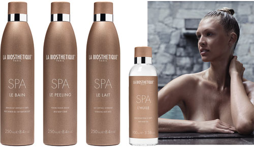 Home SPA, La l�nea corporal de La Biosthetique .