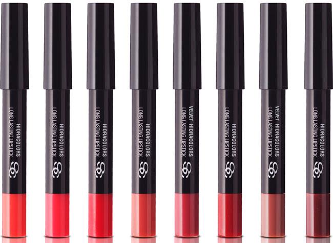 'Lipsticks' Hydracolors, de Salerm Cosmetics.