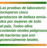 seis peligrosas bacterias