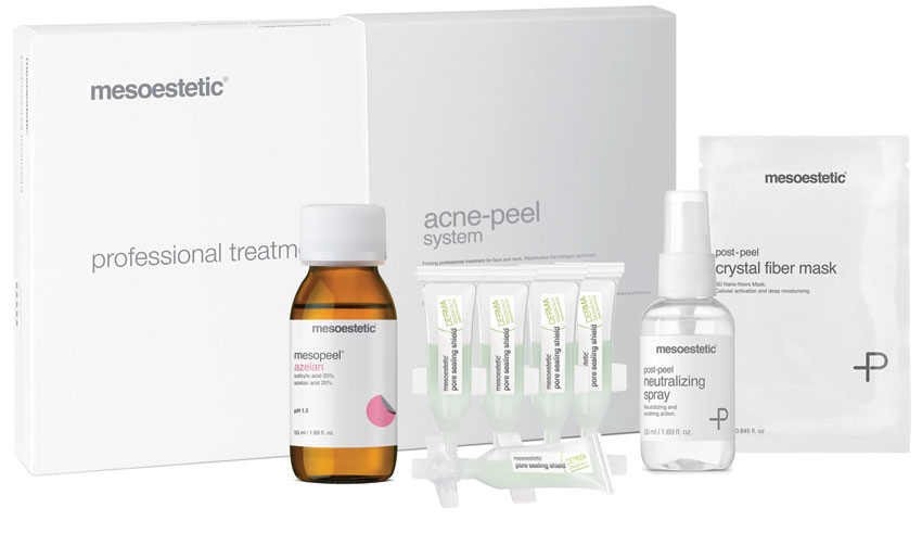 Pack Professional acne peel system