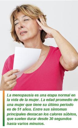 menopausia y alimentación
