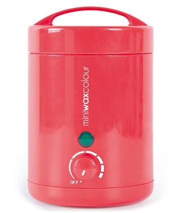 Mini Wax Colour, el calentador de cera más práctico