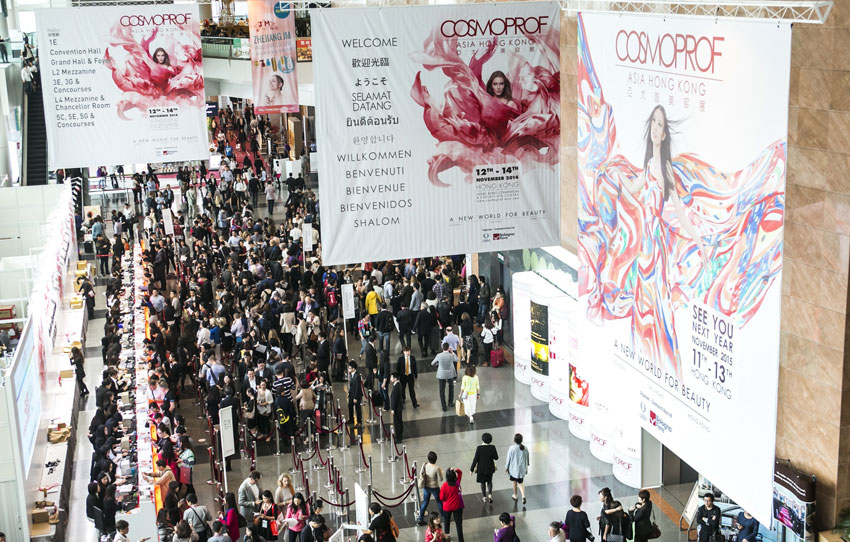 Feria Cosmoprof Asia