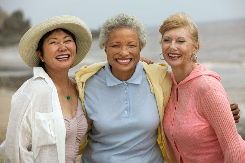 Las mujeres de m�s de 60 a�os son cada vez m�s importantes para el sector cosm�tico.