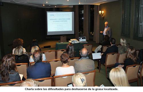 charla de Pierre Nicolau sobre la grasa localizada