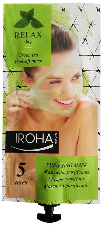 Iroha Nature renueva la imagen de su mascarilla peel-off de té verde