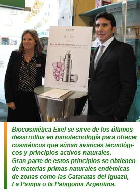 Biocosmética Exel llega a Europa