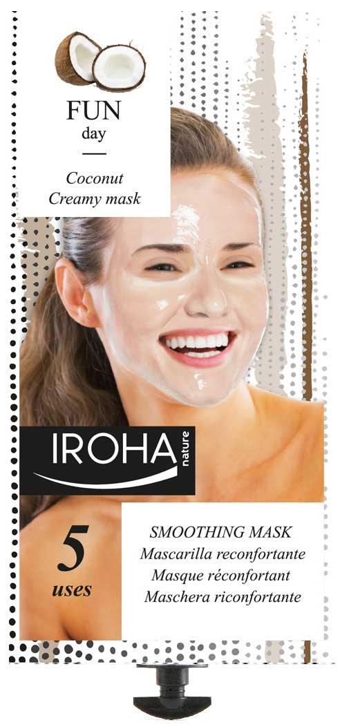 Iroha Nature renueva la imagen de su mascarilla reconfortante de coco y rosas