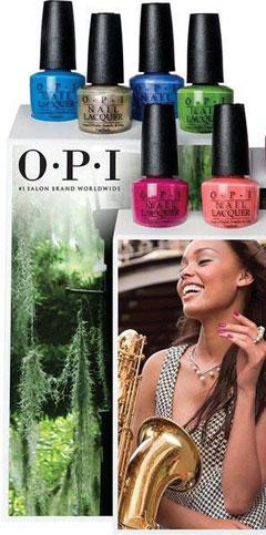 Nueva Orleans protagoniza la nueva gama de lacas de uñas de OPI Professional