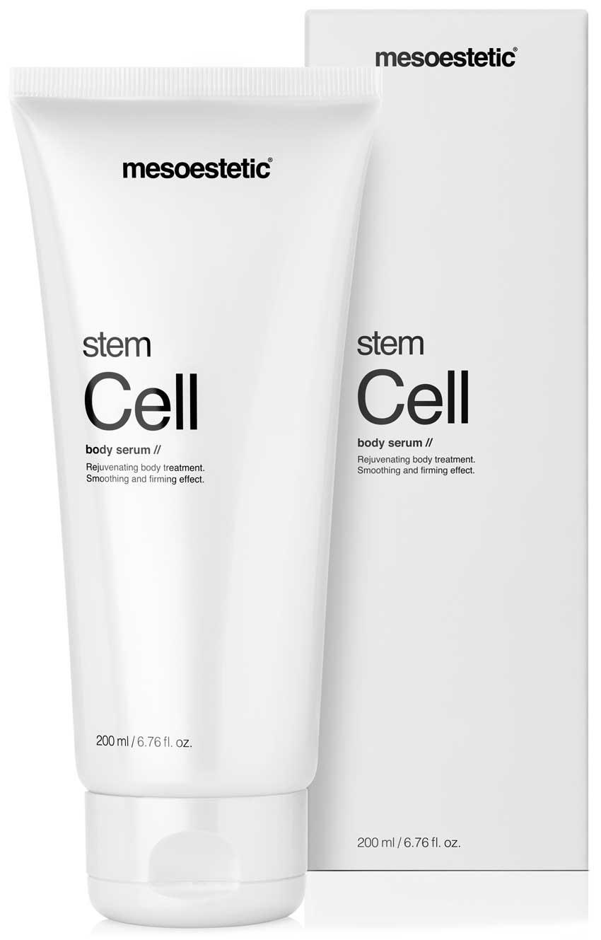 Mesoestetic presenta Stem Cell body serum, un sérum corporal antiedad basado en la cosmética inteligente