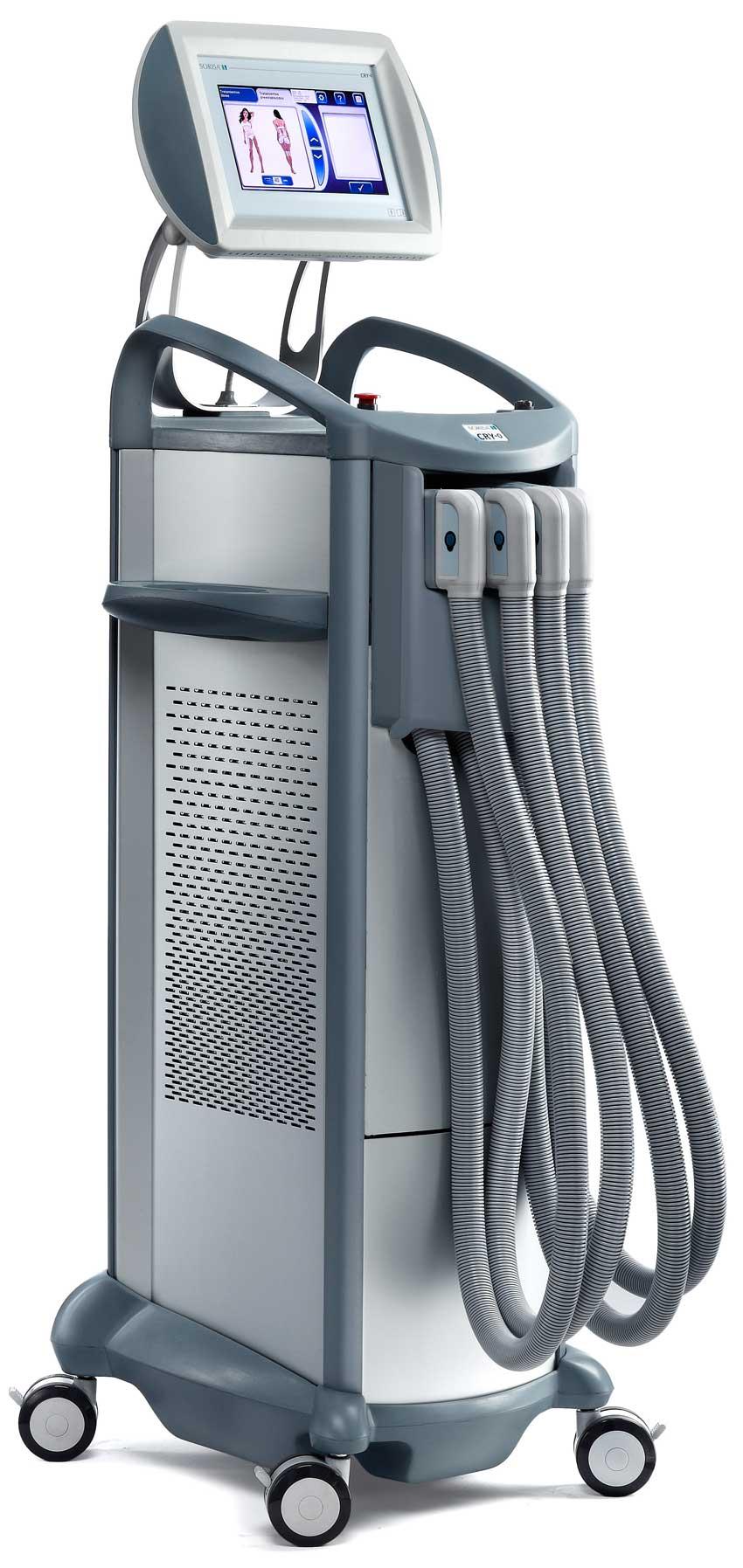 CRY-0, la combinación de emisión de frío con secuencias de masaje vibratorio