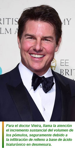 Los cambios estéticos de Tom Cruise