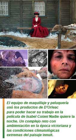 D'Orleacun Goya su participación en Nadie quiere la noche