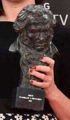 D'Orleac ve premiada con un Goya su participación en Nadie quiere la noche