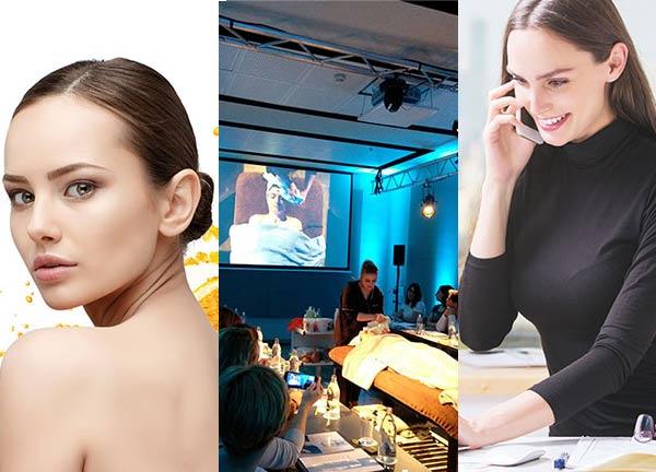 Jornada formativa de Paraíso Cosmetics en Studio Beauty Madrid