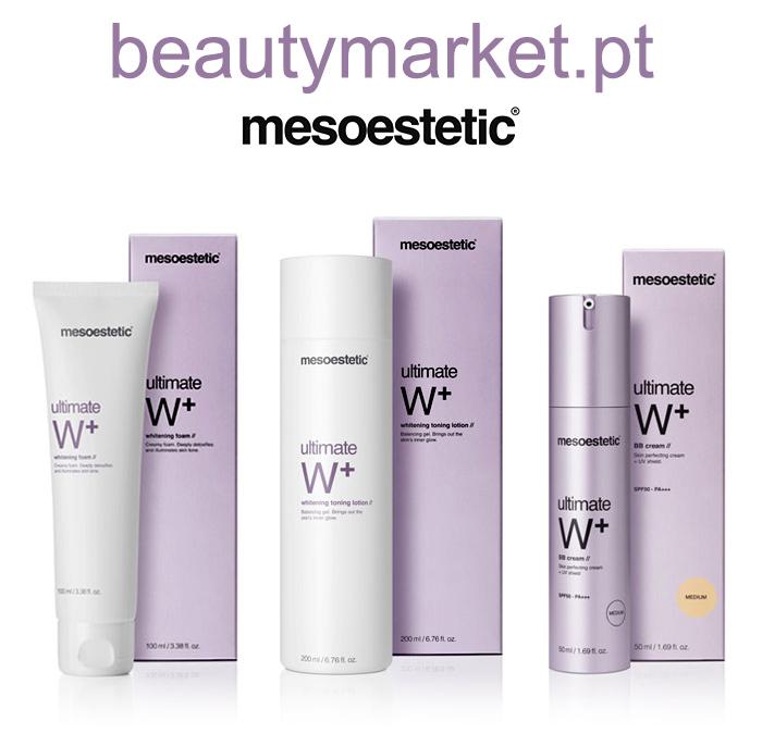 Beauty Market e Mesoestetic oferecem 6 conjuntos da linha Ultimate W+