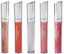Brilhos labiais D'Orleac para um efeito glitter assegurado
