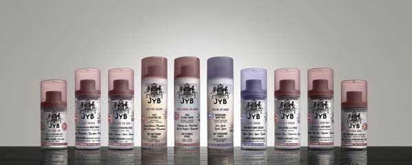 gama de JYB Cosmetics