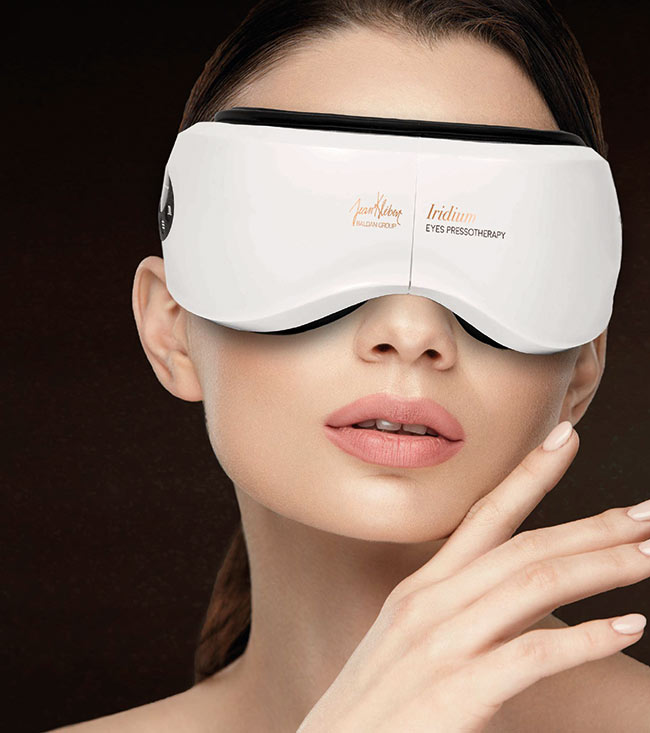 iridium eyes pressotherapy