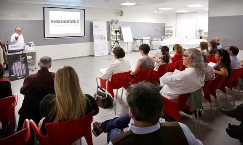 mesoestetic organiza una serie de cursos dirigidos a m�dicos est�ticos y dermat�logos.