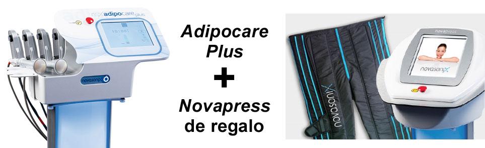 Novasonix Promoción: Adipocare Plus + Novapress de regalo