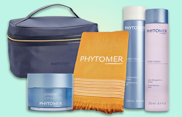 Beauty Market e Phytomer presenteiam 6 packs Pele Limpa e Livre de impurezas