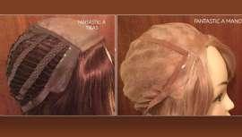Con la llegada del calor, es muy cómodo recogerse el cabello en forma de coletas y todo tipo de peinados. Estas pelucas  ofrecen numerosos y variados recogidos