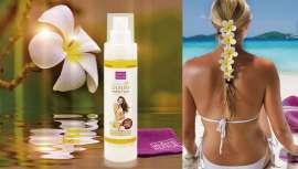 Este aceite está elaborado a base de Rosa Mosqueta Silvestre, cuya acción previene la aparición de manchas, recupera la piel tras la exposición a la luz solar y tiene efecto antioxidante