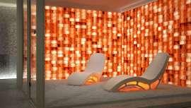 Salis es la sala de haloterapia que permite crear módulos con distintas funciones. Además de la terapia natural, con numerosos beneficios para el organismo, dispone de música, cromoterapia y aromas