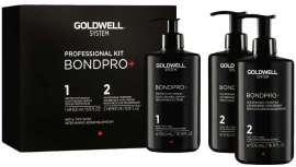 Goldwell ha creado este sistema innovador de dos componentes que protege y fortalece los puentes disulfuro del cabelllo durante los servicios de coloración, decoloración o texturización