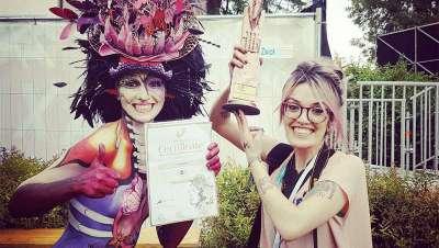 Dos españolas, premiadas en el World Bodypainting Festival