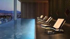 El sillón de Iso Benessere posee un colchón de aire hipoalérgico y está diseñado para garantizar una comodidad total. Contiene un sistema de iluminación RGB, colores, efectos de luces y calefacción