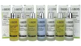 Se emplean combinados con las cremas base de Abidis, y, además, se pueden combinar entre sí