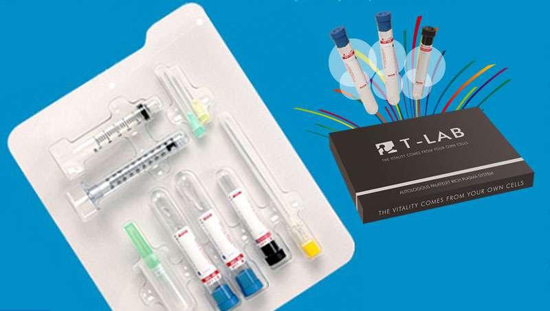 T-Lab - Kit plasma rico en plaquetas