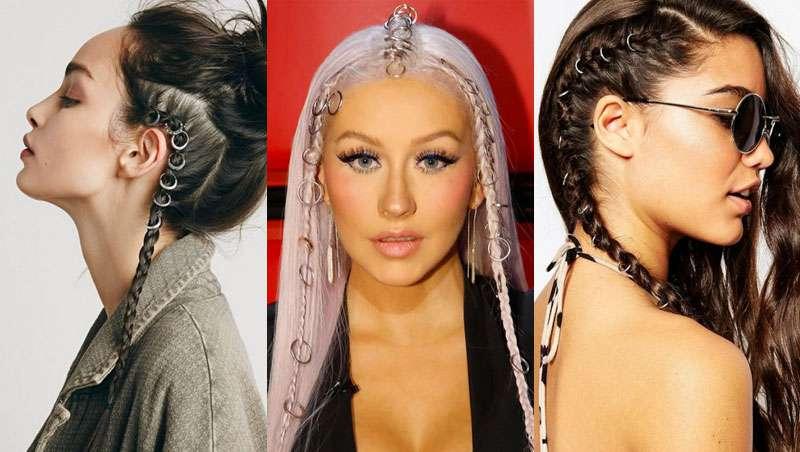 El hair piercing se hace un hueco entre las melenas m�s trendies