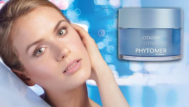 Citadine, crema sorbete anticontaminaci�n rostro y ojos, �ltima novedad de Phytomer