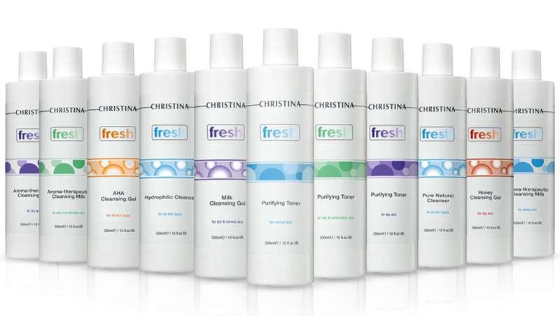 Limpieza y frescor para la piel, claves de la nueva línea Fresh de Christina Cosmetics