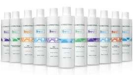 La gama consta de todo tipo de productos que incluyen aguas activas, leches, tónicos y geles ideados para mantener la piel limpia y fresca durante horas