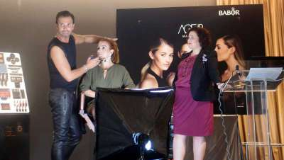 Babor presenta en Barcelona su línea AGEID, el primer maquillaje basado en la investigación cosmética