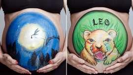 Las embarazadas quieren inmortalizar su barriga pudiéndola personalizar. Desde el centro Mery Make Up cuentan en qué consiste esta curiosa técnica