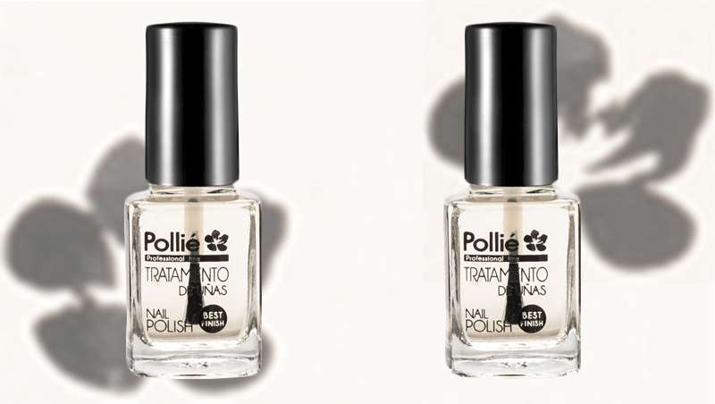 Top coat efecto gel de Polli�: u�as fuertes y brillantes
