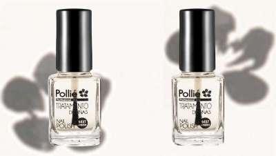 Top coat efecto gel de Polli�: u�as fuertes y brillantes