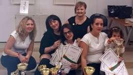 En Nails Competition & Congress destacó la participación del equipo español, integrado por Ana García, María Arias y Adriana Negrea, que cosecharon numerosos premios