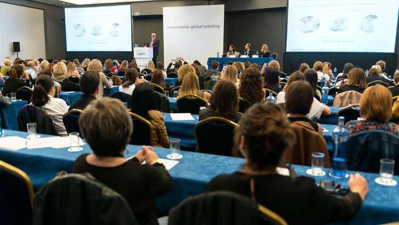 mesoestetic global meeting acoge a 200 profesionales de la estética de más de 30 ciudades