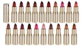 Las barras de labios de la firma tienen una gran variedad de coberturas y acabados