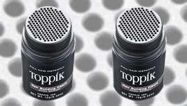 Toppik Hair Building Fibers densifica el cabello al instante en recogidos clásicos o desenfados, coletas y looks con cabellos largos o cortos