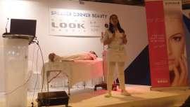 En la jornada de domingo, el espacio Beauty Speaker ha concentrado a profesionales de la estética que han mostrado técnicas y productos para la mejora de la piel